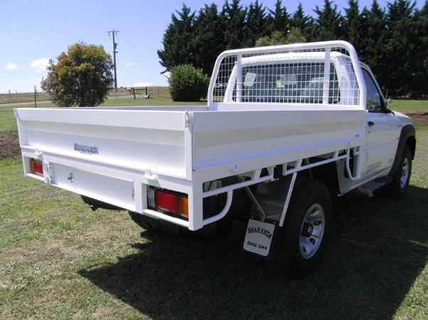 custom Nissan Patrol steel ute tray