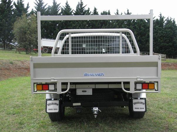 custom nissan navara tray