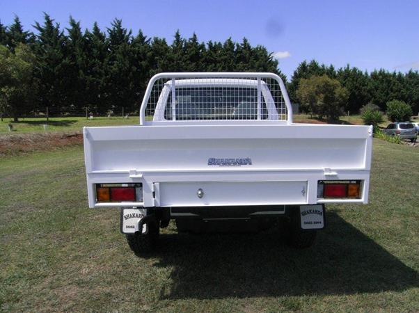 custom steel Nissan Patrol tray