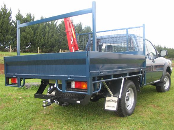 steel ute tray crane